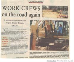Work Crews On The Road Again